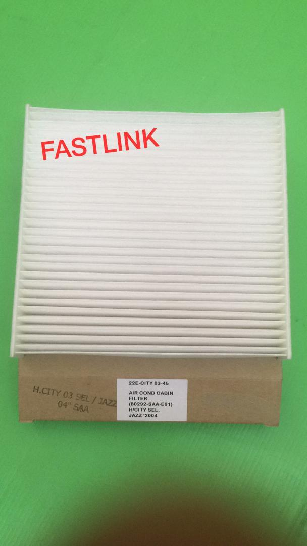 HONDA CITY SEL 2003 JAZZ 2003 AIRCOND CABIN FILTER 100% HIGH QUALITY