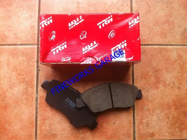 HONDA CITY SX8/ACCORD SA6Y/CIVIC EC7,EC8,EC9 BRAKE PAD TRW FRONT