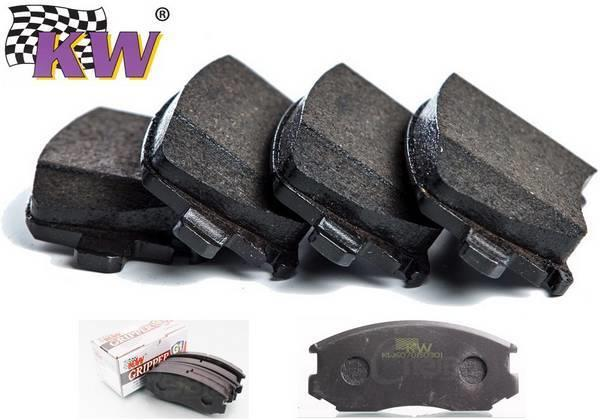 HONDA CITY VTEC 1998-13 KW G1 400ºC Racing Brake Pads (Front) [KW5070]