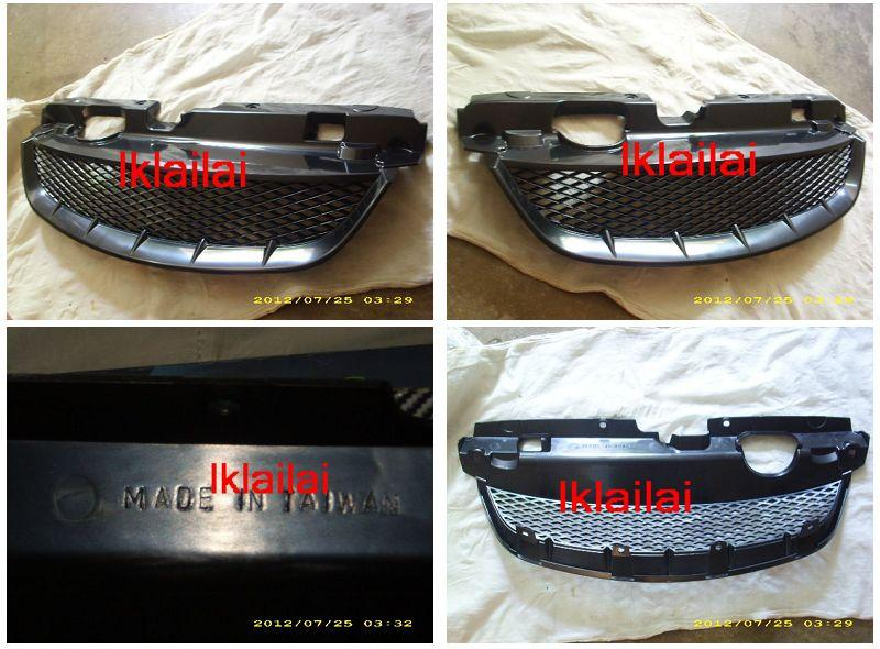 Honda Civic `04-05 S5A Front Grille Type R ABS (HD13-FG05-U)