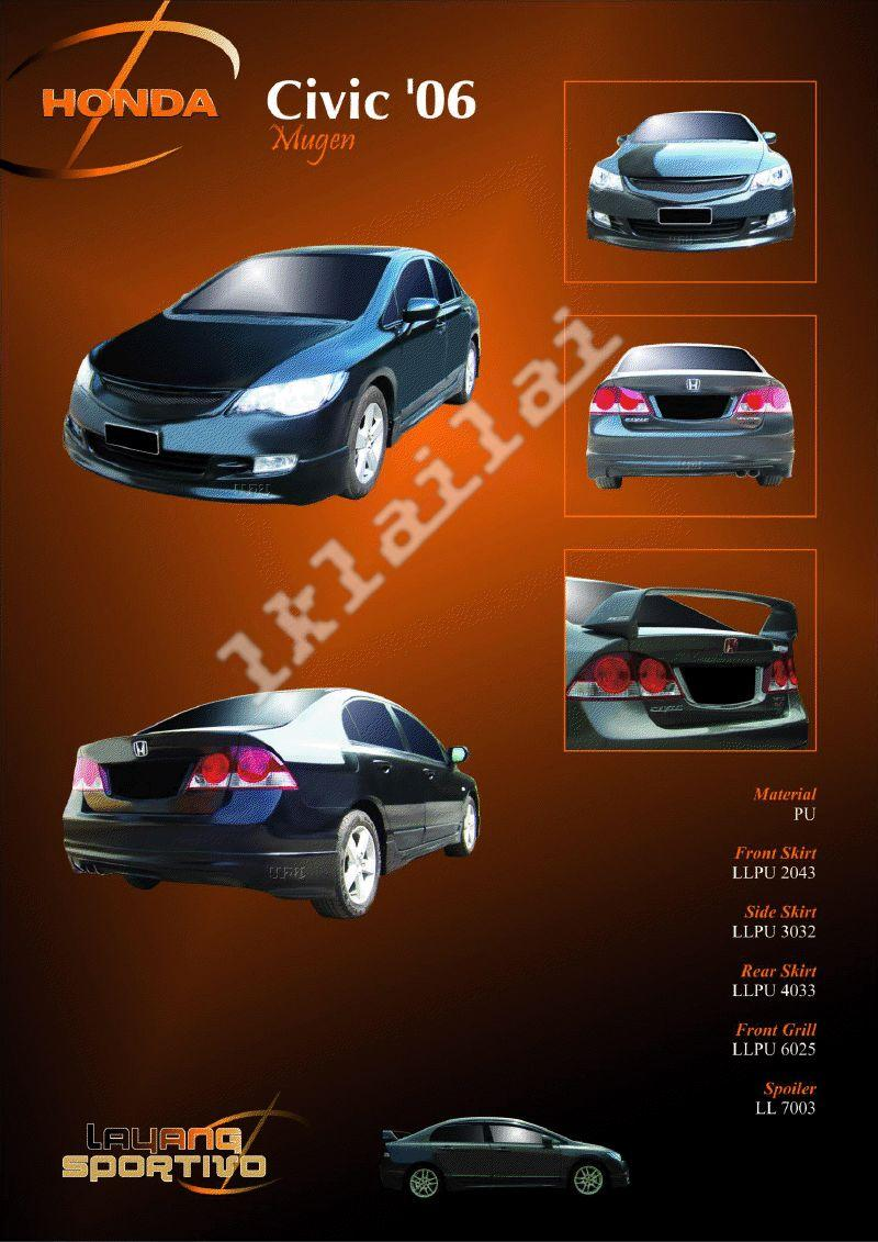Honda Civic '06 Mugen - Body Kits