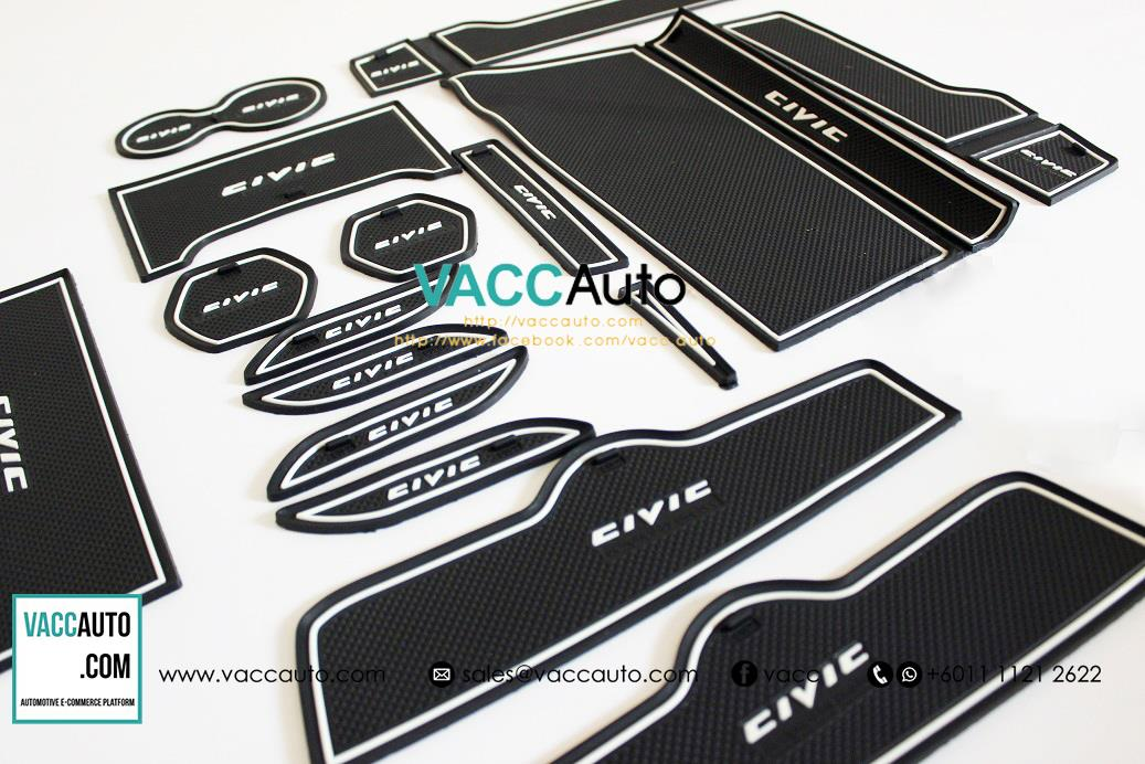 Honda Civic (10th Gen) Anti Slip Rubber Mat