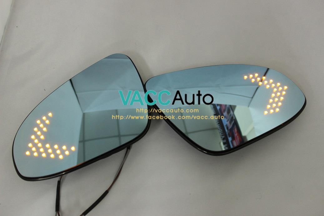 Honda Civic (10th Gen) Blue Mirror with LED Signal