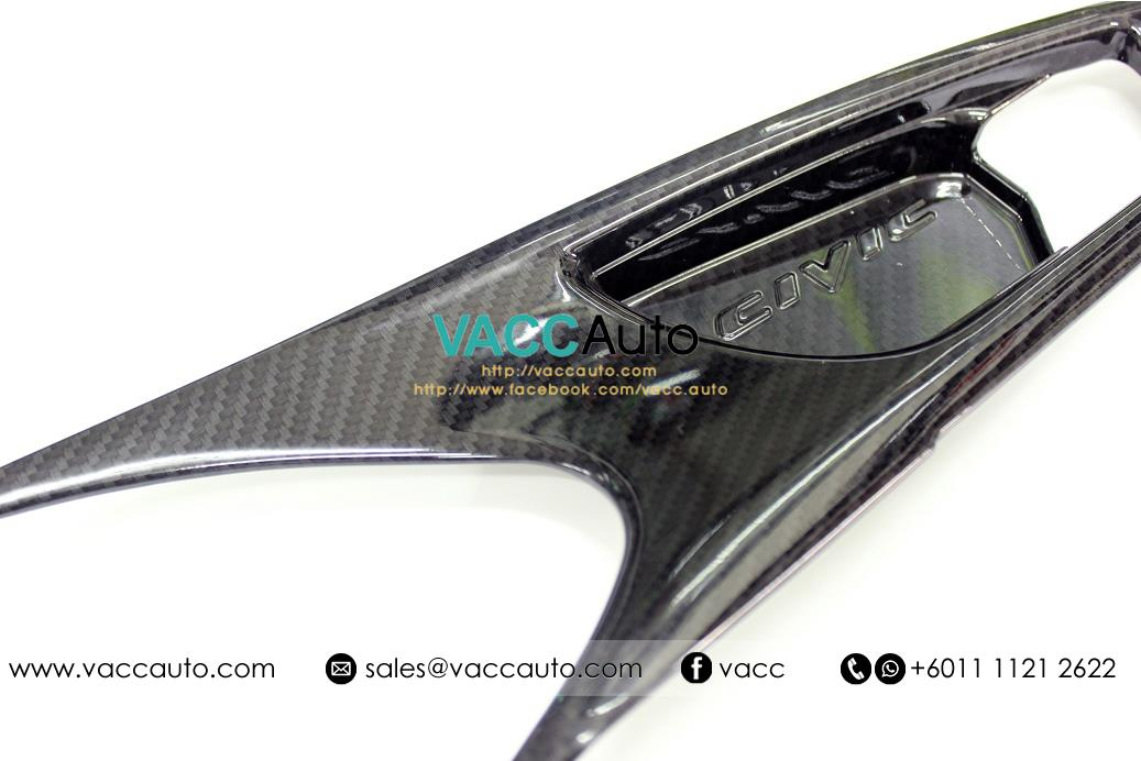 Honda Civic (10th Gen) Inner Handle Carbon Cover