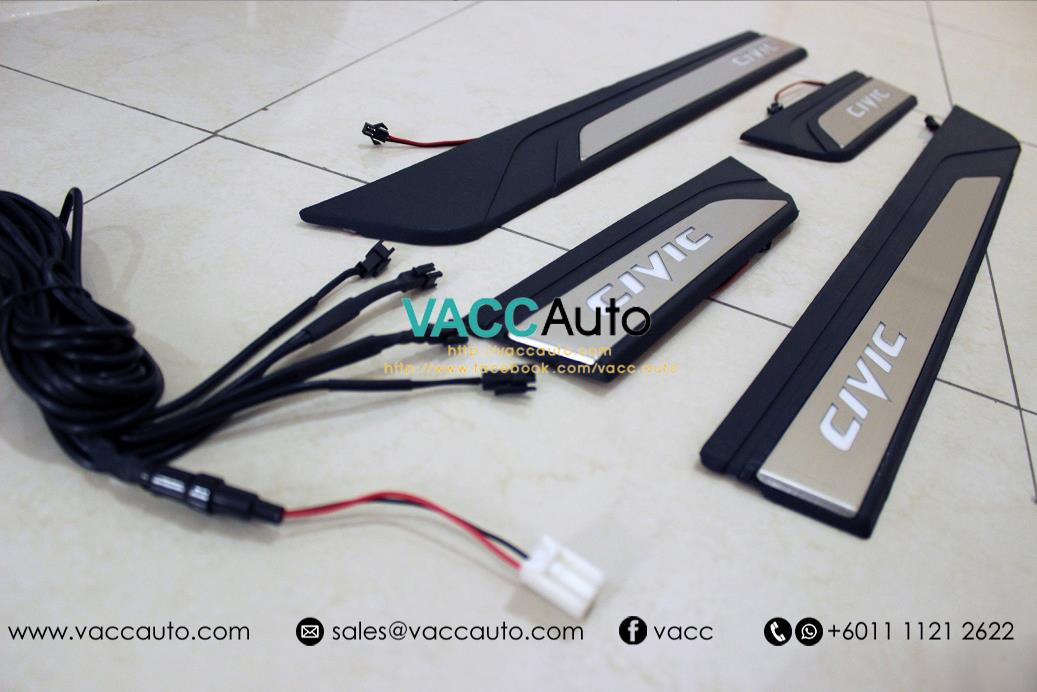 Honda Civic (10th Gen) OEM LED Door Step