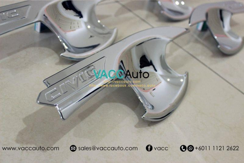 Honda Civic (10th Gen) Outer Chrome Handle (Type B)