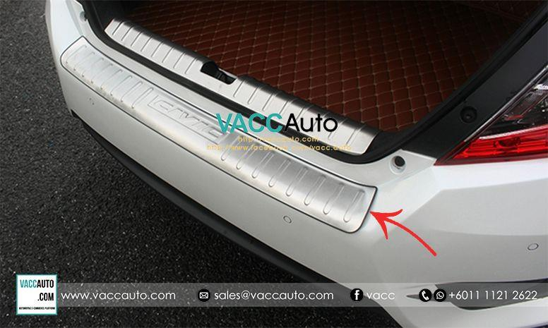 Honda Civic (10th Gen) Rear Bumper Protector - Out (Type A)