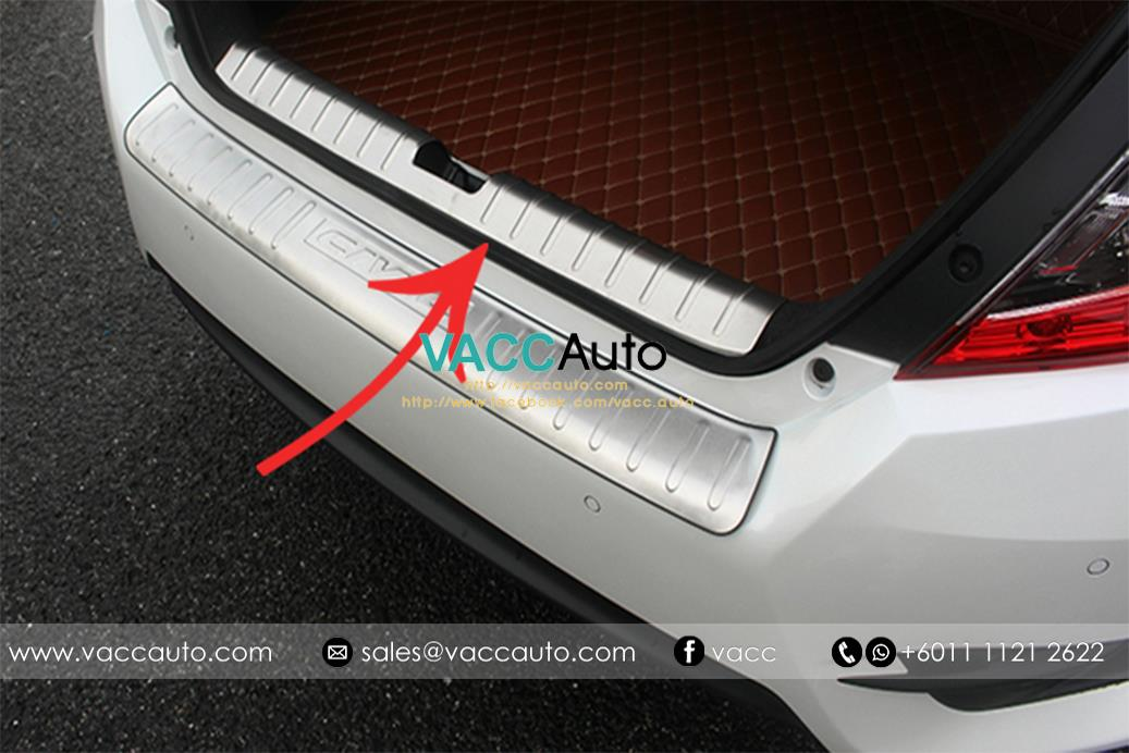 Honda Civic (10th Gen) Rear Bumper Protector - In