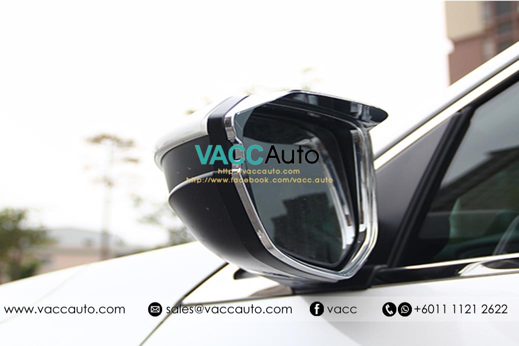 Honda Civic (10th Gen) Side Mirror Chrome Frame