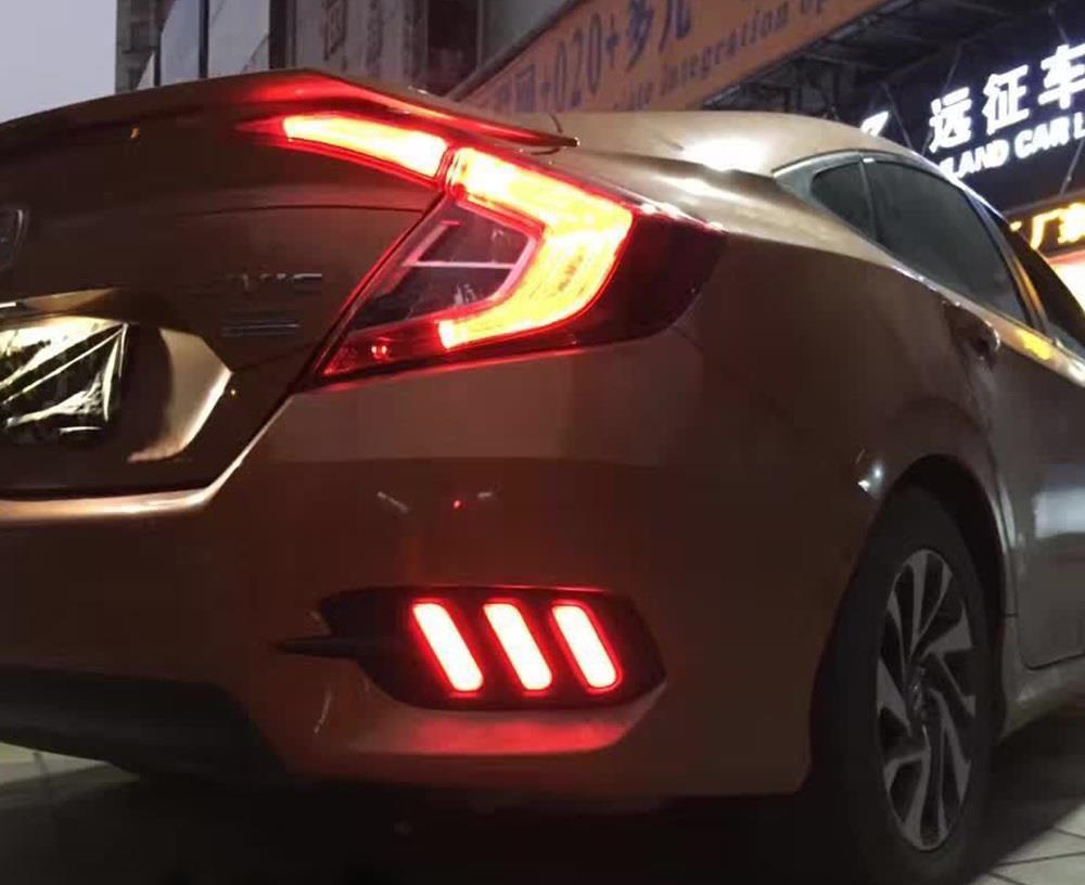 Honda Civic 2017 Rear | Best new cars for 2018