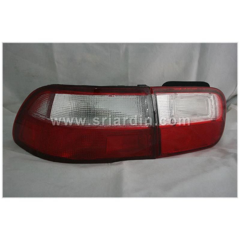 Honda Civic EG 92-95 Red Clear Tail Lamp