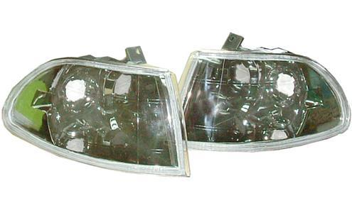 Honda Civic `92/SR/EG 2D Corner Lamp Crystal Chrome [HD11-CL02-U]