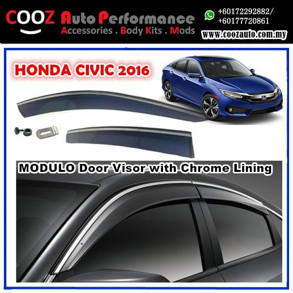 HONDA CIVIC FC 2016 Window Door Viso (end 6 10 2018 2 47 PM) d90df735159