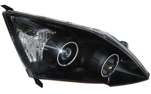 Honda CRV '07 CCFL Ring Projector Head Lamp Black Motor