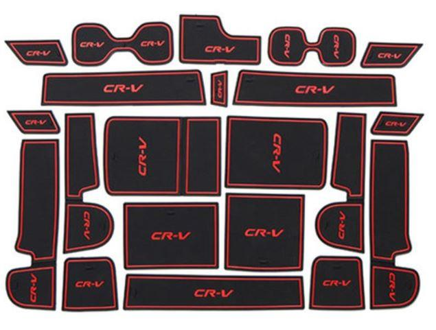 Honda CRV 2017-2019 Interior Slot Mat Anti Slip (1set 21pcs)