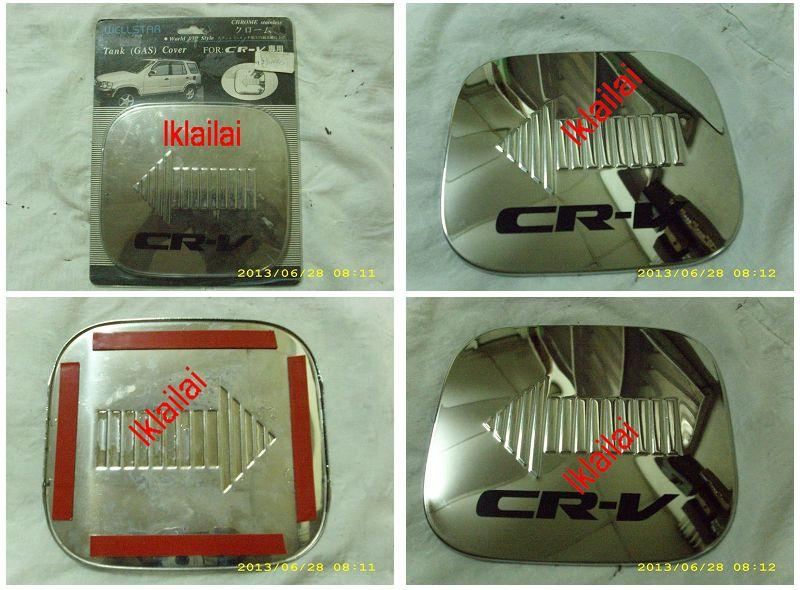 Honda CRV `97-`00 Fuel Cap Cover Chrome [HD20-FC01-U]