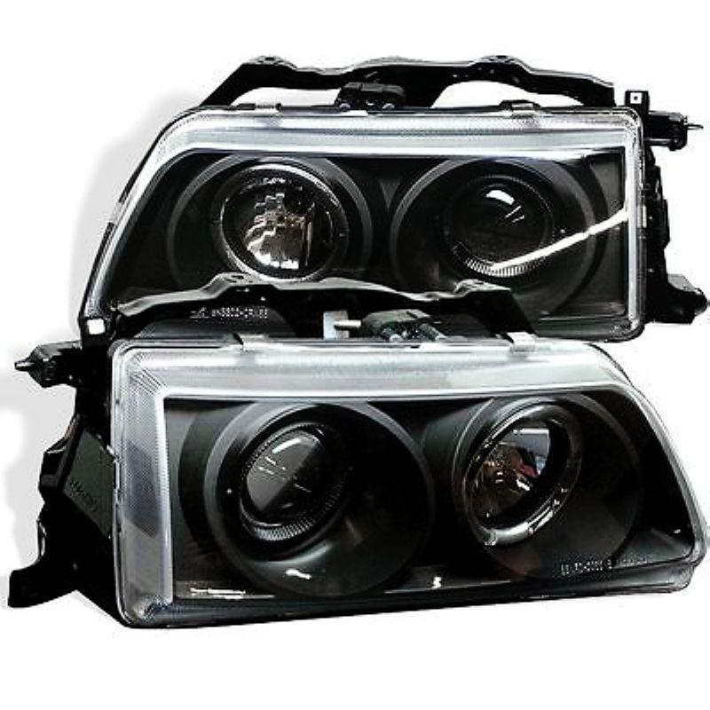 HONDA CRX 88-92 CCFL Ring Projector Head Lamp + Corner Lamp