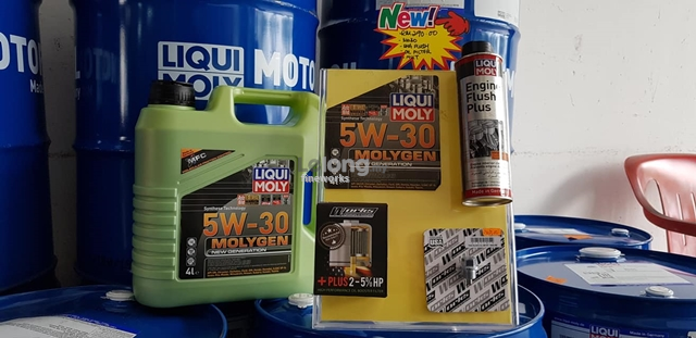 HONDA CRZ LIQUI MOLY 5W30 MOLYGEN AND WORK ENGINEERING PACKAGE