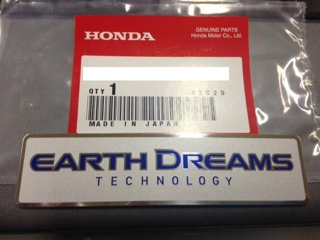 Honda Earth Dreams Technology I VTEC Emblem Decal