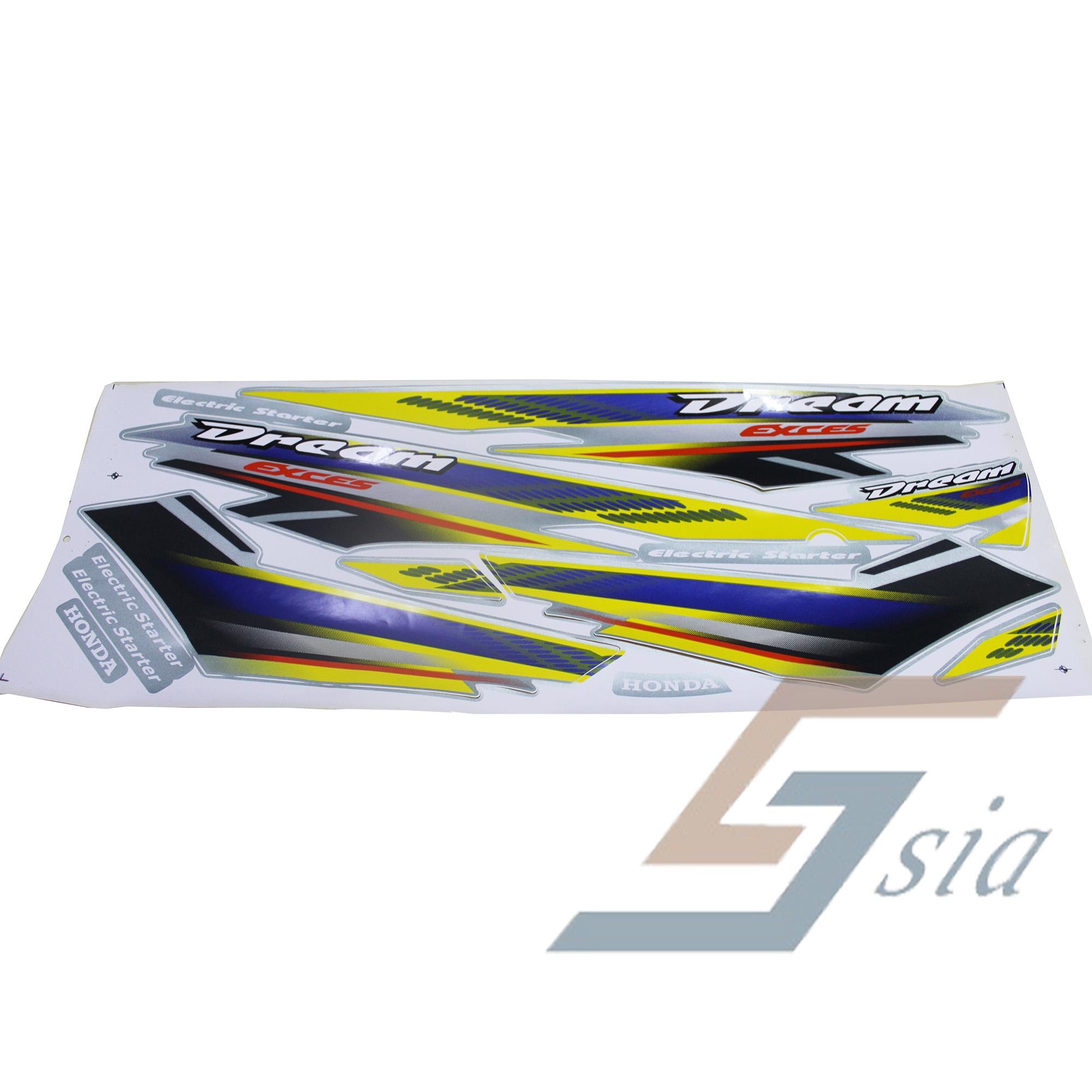 Honda EX5 H637 Dream Body Stripes ( (end 7/12/2021 12:00 AM)