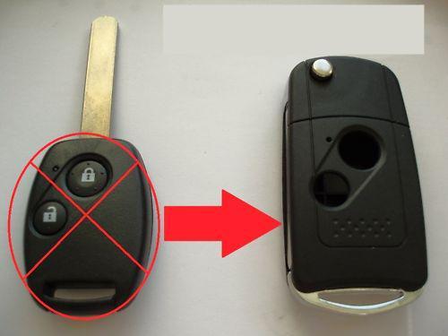 Honda Civic Key Replacement >> Honda Flip Keys Replacement Duplicate Key For Civic Jazz Crv City