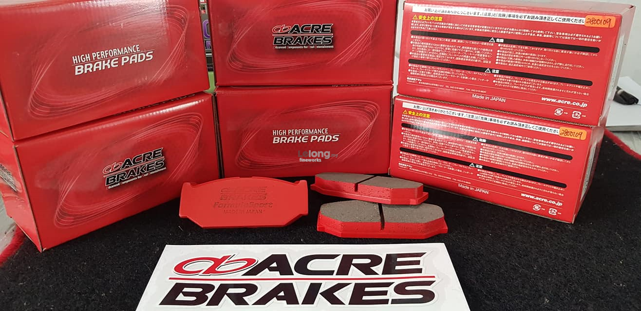 HONDA FREED ACRE FORMULA SPORT FRONT BRAKE PAD 0-600℃