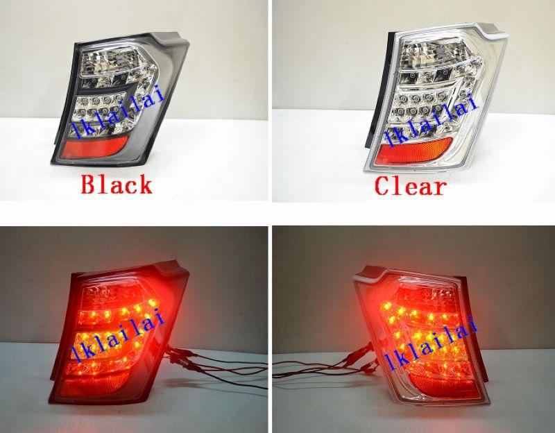 HONDA FREED LED Tail Lamp [Clear / Black Lens]