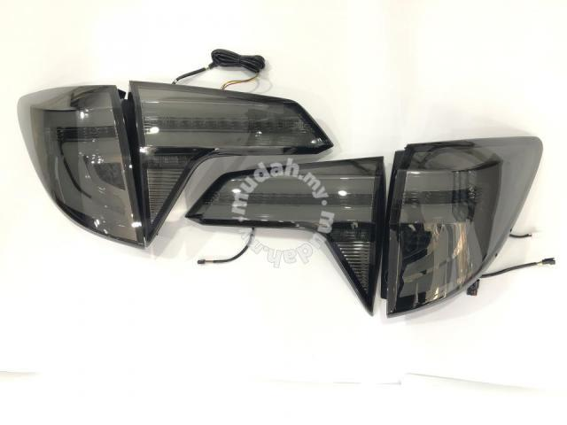 Honda HRV 14-19 Led Tail Lamp Bar Smoke