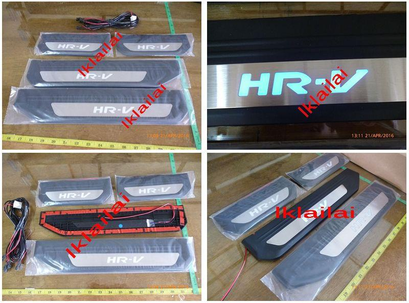 Honda HRV '15 OEM Side / Door Sill Plate Blue LED [4pcs/set]