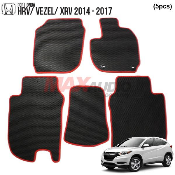 HONDA HRV/ VEZEL 2014 - 2017 EMANON-J (EVA) Custom Made Floor Carpet
