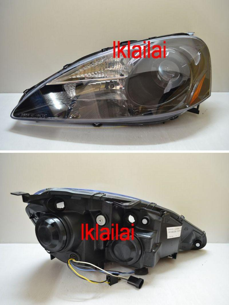 Honda Integra DC5 `05-08 Projector Head Lamp Black Price per pair