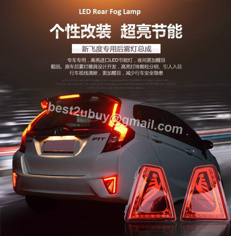 honda jazz 3rd gen rear led fog lamps end 3 1 2020 5 04 pm. Black Bedroom Furniture Sets. Home Design Ideas