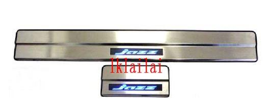 HONDA JAZZ/FIT '07-13 Door Side Sill Plate With LED Light [4pcs/set]
