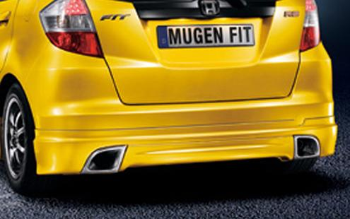 Honda Jazz / Fit 08 Rear Lip Mugen RS Style PUR (HD31-BK03-U)