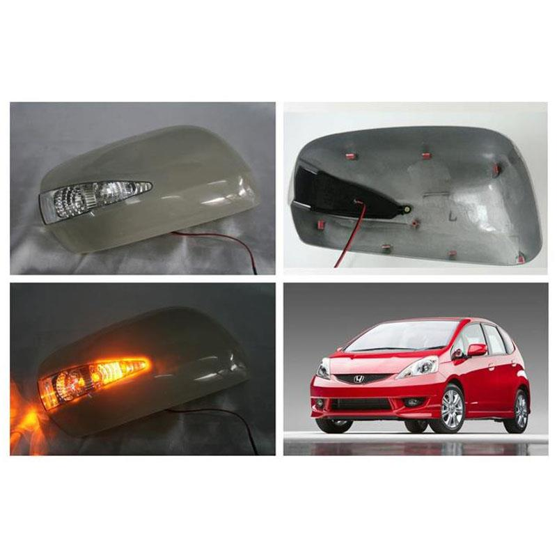 Honda Jazz / Fit 08 Side Mirror Cover with LED Signal