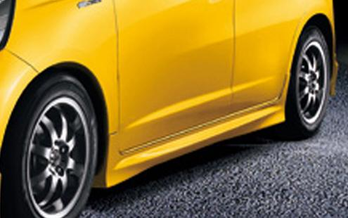 Honda Jazz / Fit 08 Side Skirt Mugen Style PUR (HD31-BK02-U)