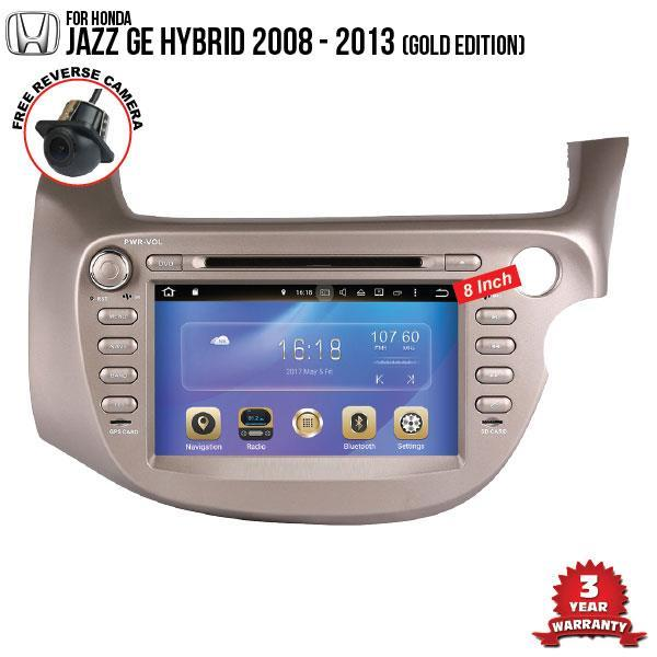 HONDA JAZZ GE Hybrid 2008 8' Gold Ver. DLAA Double Din DVD GPS Player