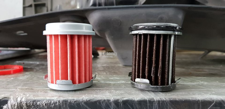 HONDA JAZZ GK CVT FILTER AND MITASU FULLY SYN CVFT PACKAGE