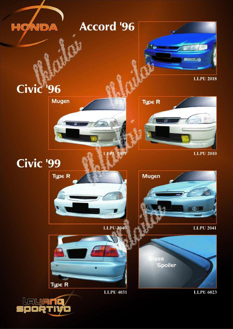 Honda Mix - Body Kits