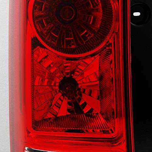 For Honda Pilot Red Clear Rear Tail Light Brake Tail Lamp Driver Left Side Rep