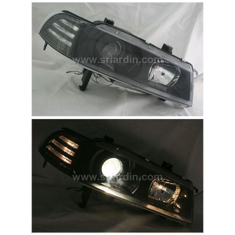 Honda Prelude 92-96 Black Projector Headlamp