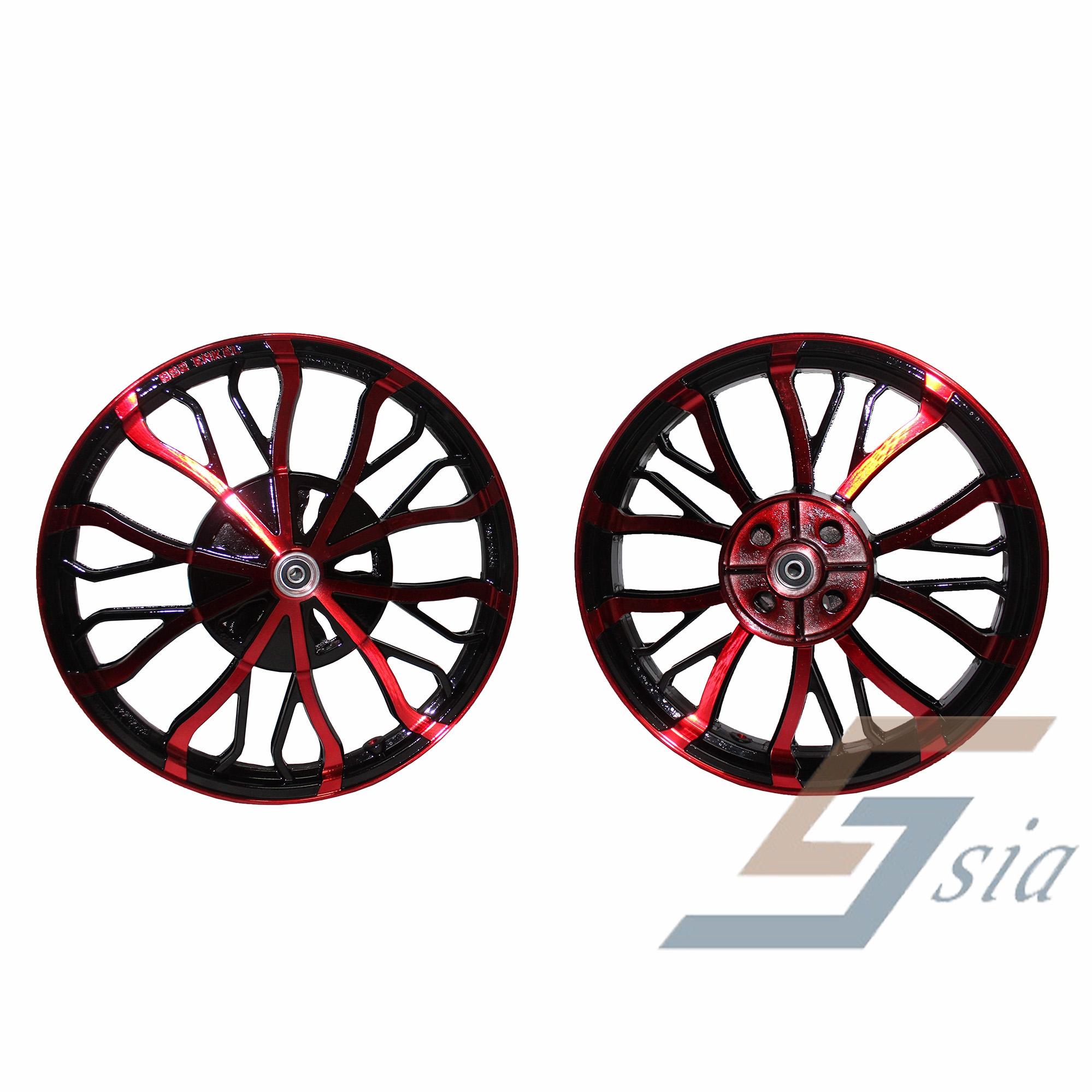 Honda RS150R BS2 Racing Sport Rims (Red/Black)