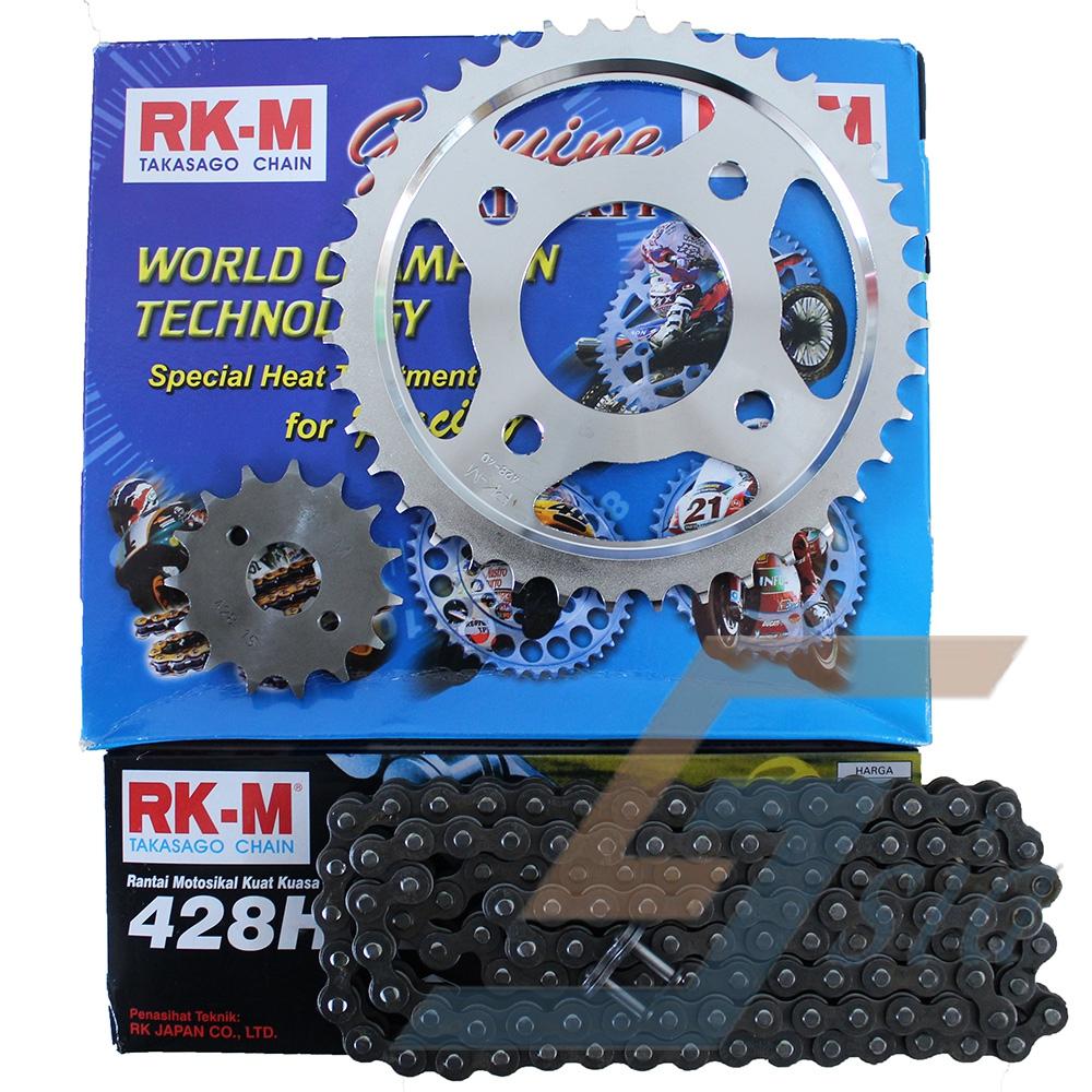 Honda RS150R RKM Takasago Chain Sprocket Set (428HSBX120L/15/40)