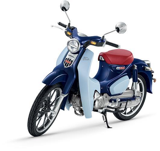 Honda Super Cub 125 (Red/Black/Blue) Motorcycle