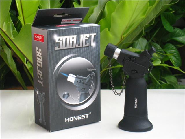 Honest BCH506 Jet Flame Torch Butane Gas Lighter Burner