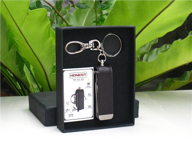Honest BCZ103 Multi Purpose Function w/ Knife / Keychain (Black)