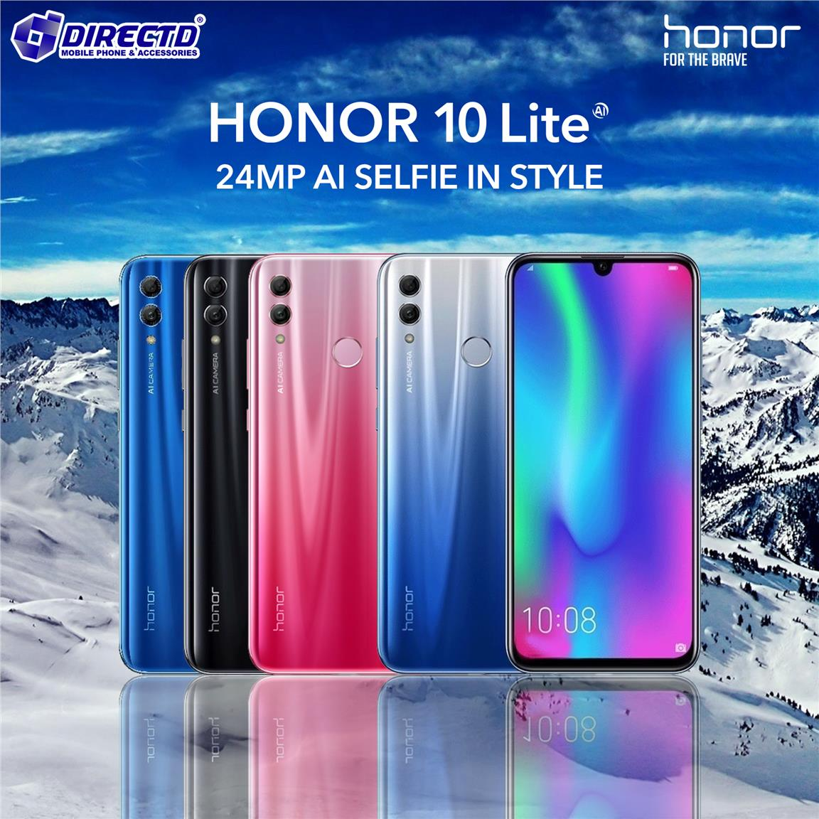 HONOR 10 lite - ORIGINAL set by HONOR Malaysia (LATEST MODEL)