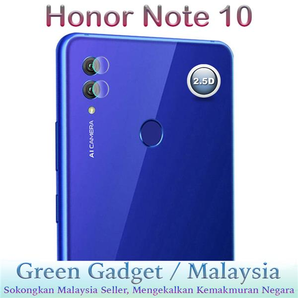 Honor Note 10 Camera Protector 2.5D Flexible Glass