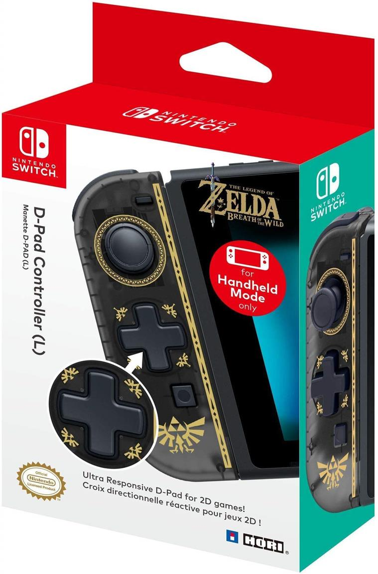 HORI D-Pad Controller (L) (Zelda) Officially Licensed - Nintendo Switc