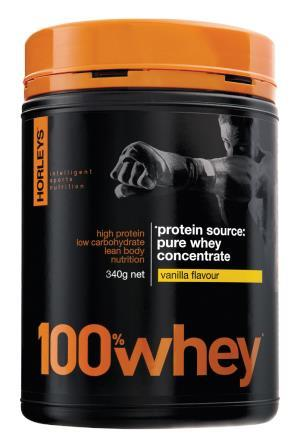 Horleys 100% Whey 340g (Choc Flavour) GYM